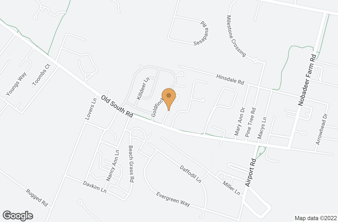 Google Map of 13 Witherspoon Drive, Nantucket, MA, USA