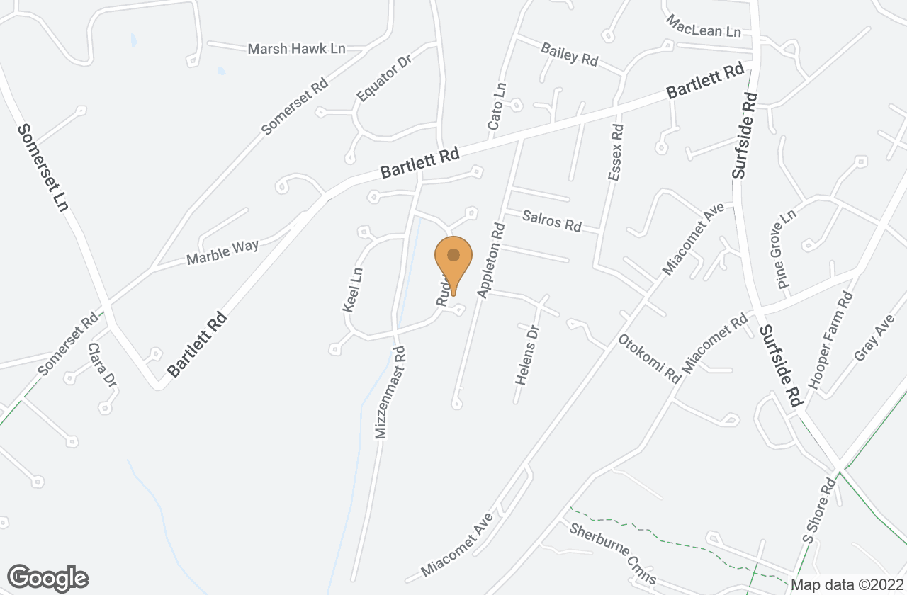 Google Map of 2 Reacher Lane, Nantucket, MA, USA