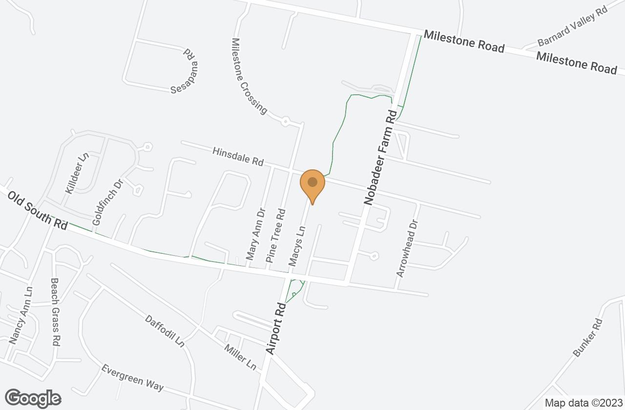 Google Map of 35 Macys Lane, Nantucket, MA, USA