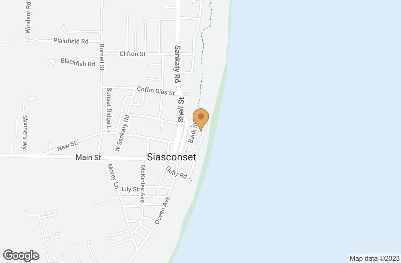 Google Map of 30 Codfish Park Road, Nantucket, MA, USA