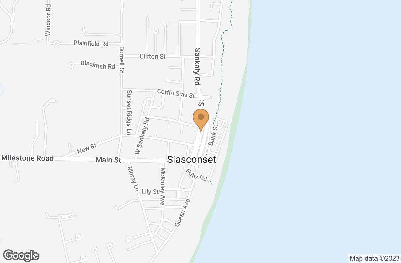 Google Map of 18 Center Street, Nantucket, MA, USA