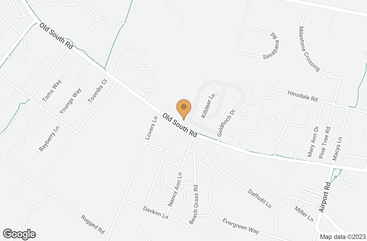 Google Map of 97 B Goldfinch Drive, Nantucket, MA, USA