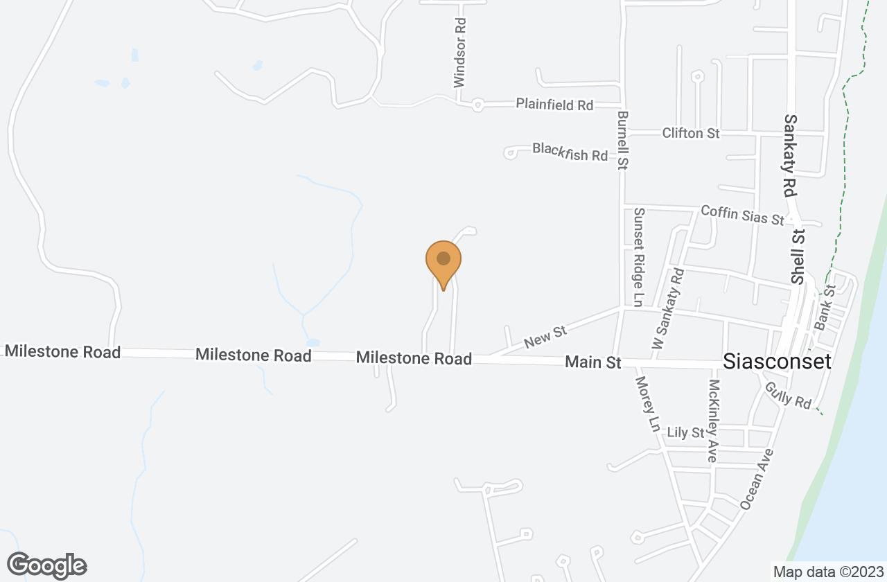 Google Map of 7 Hydrangea Lane, Nantucket, MA, USA