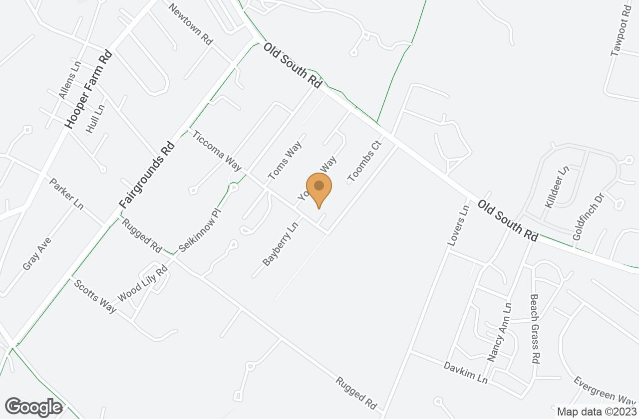 Google Map of 2  Dooley Court, Nantucket, MA, USA