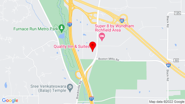 Google Map of 4742 Brecksville Rd, Richfield, OH 44286