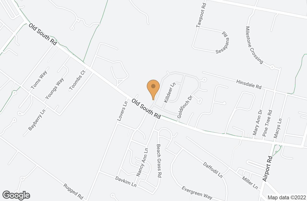 Google Map of 91 Goldfinch Dr