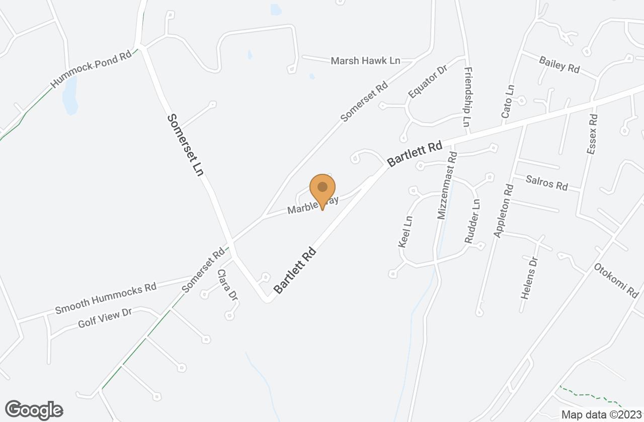 Google Map of 4B Marble Way, Nantucket, MA, USA