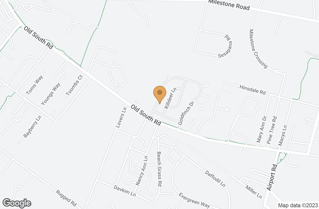 Google Map of 92 Goldfinch Drive, Nantucket, MA, USA