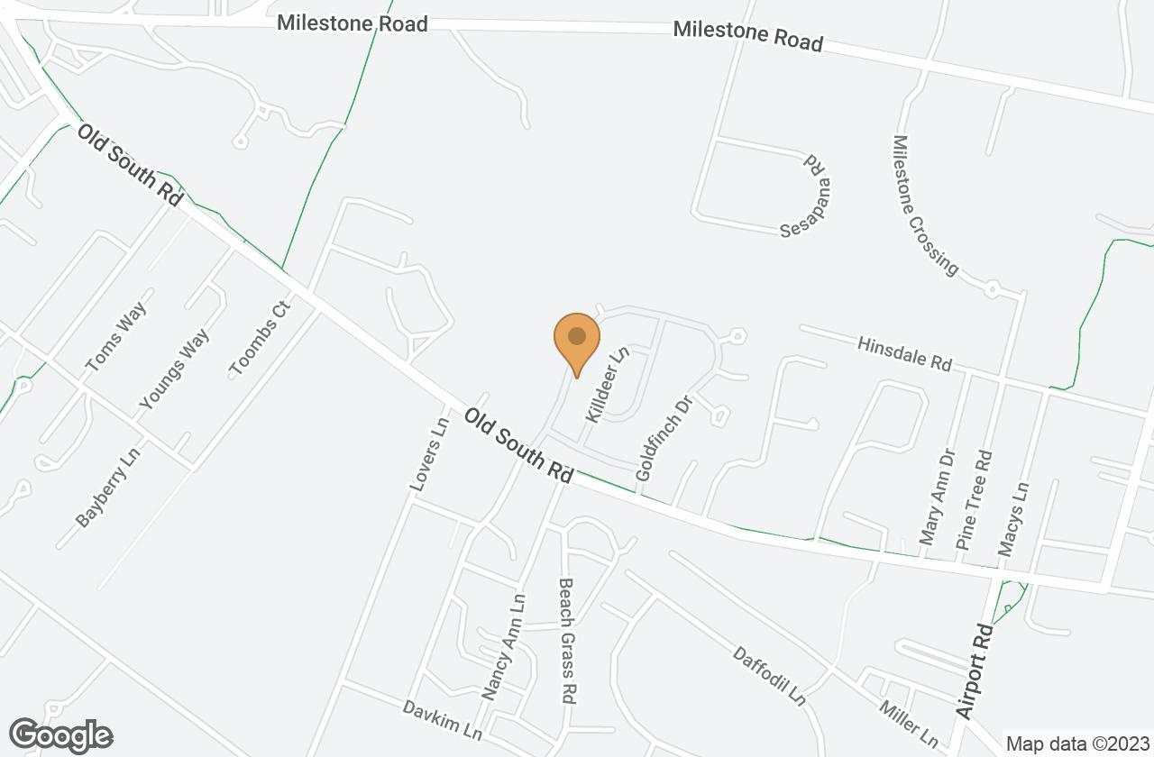 Google Map of 84 Goldfinch Drive, Nantucket, MA, USA