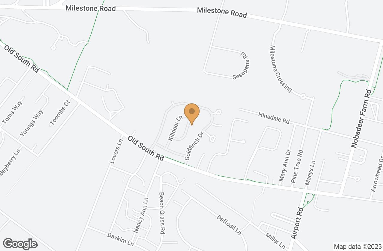 Google Map of 6 Kittiwake Lane, Nantucket, MA, USA
