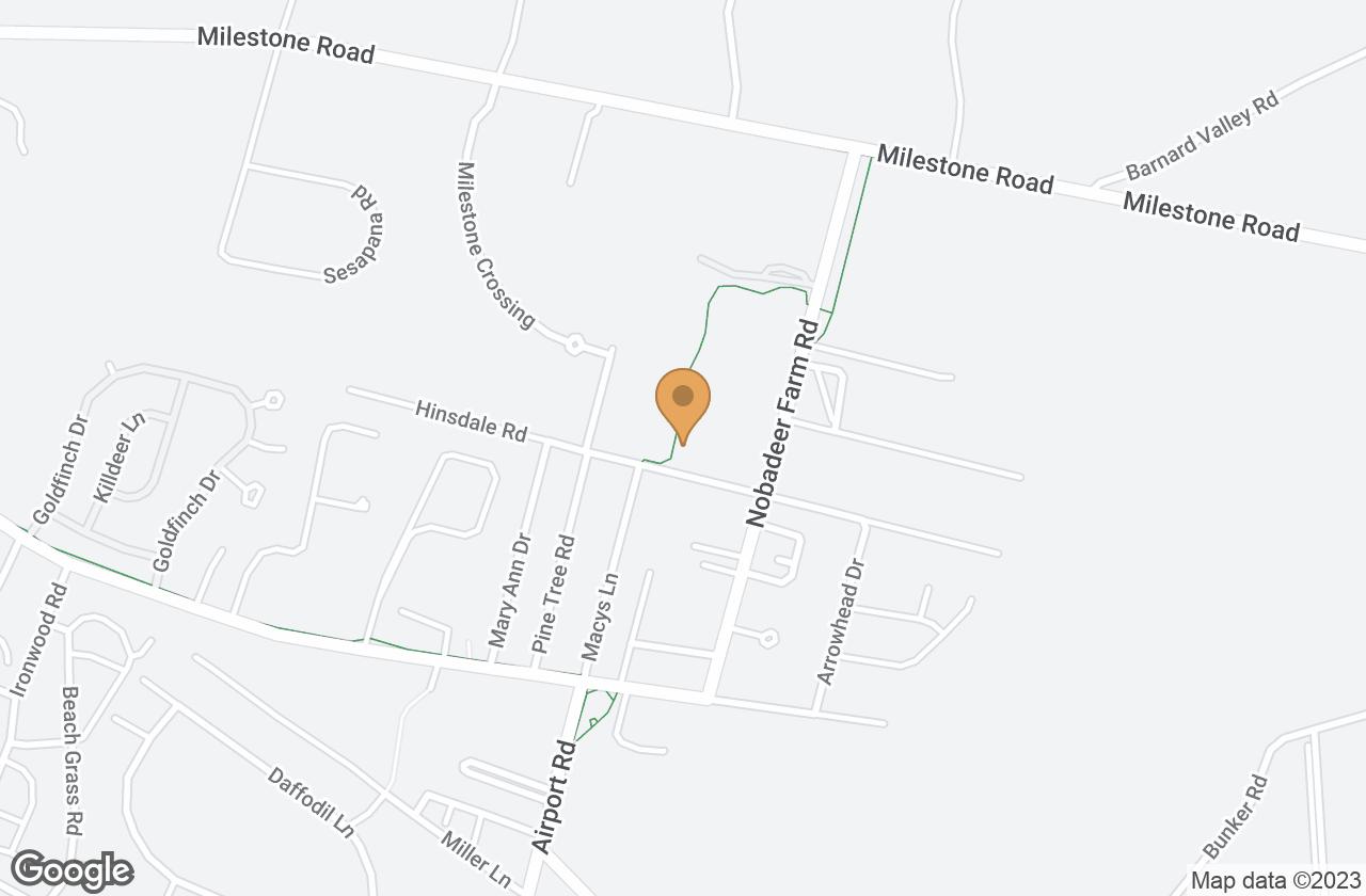 Google Map of 87  Hinsdale Road, Nantucket, MA, USA