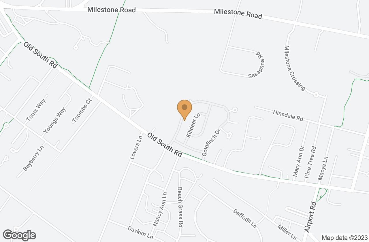 Google Map of 82 Goldfinch Drive, Nantucket, MA, USA
