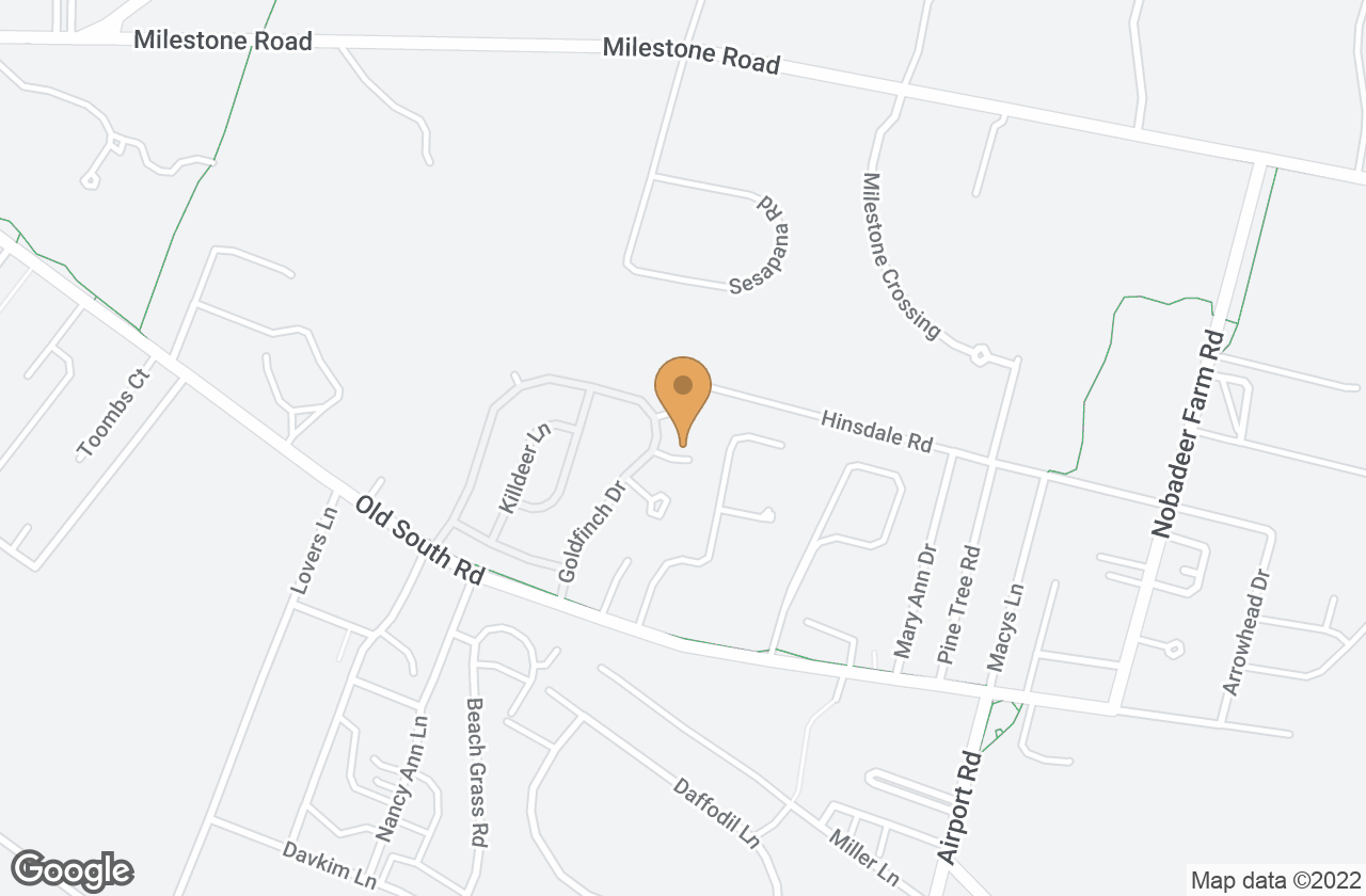 Google Map of 2 Sparrow Drive, Nantucket, MA, USA