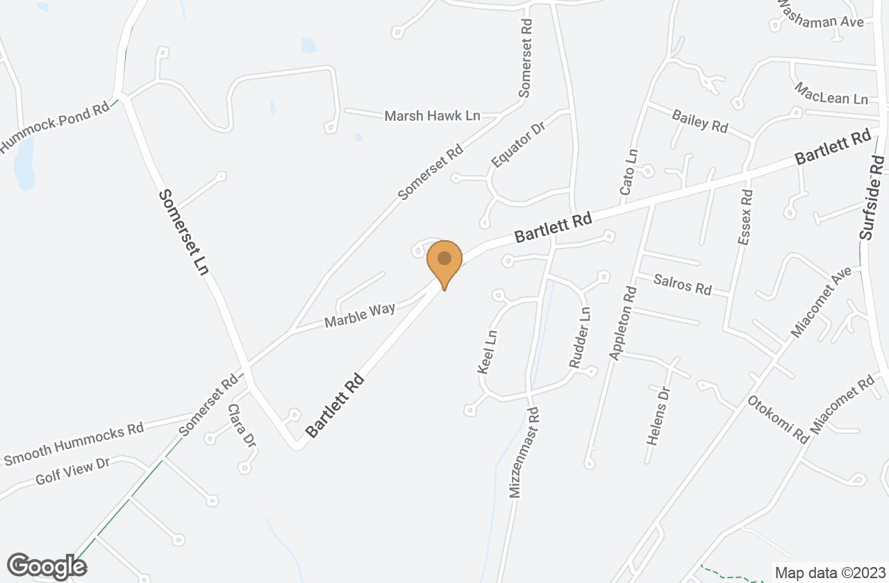 Google Map of 9 Grey Lady Lane, Nantucket, MA, USA