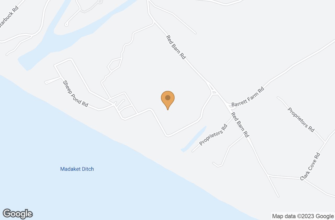 Google Map of 36 Sheep Pond Road, Nantucket, MA, USA