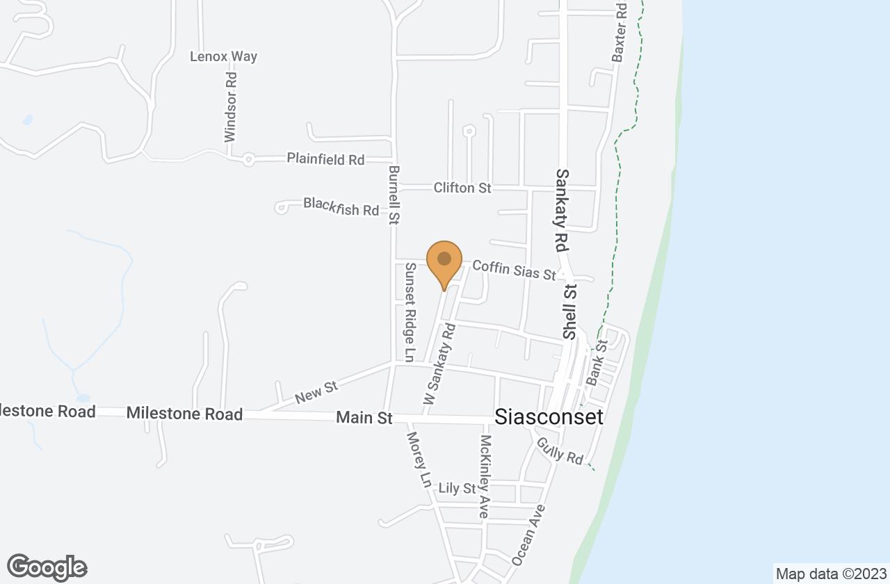 Google Map of 26 Lincoln Street, Nantucket, MA, USA