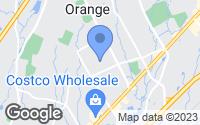 Map of Orange, CT