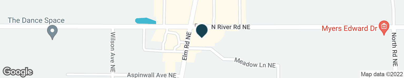 Google Map of3390 ELM RD NE