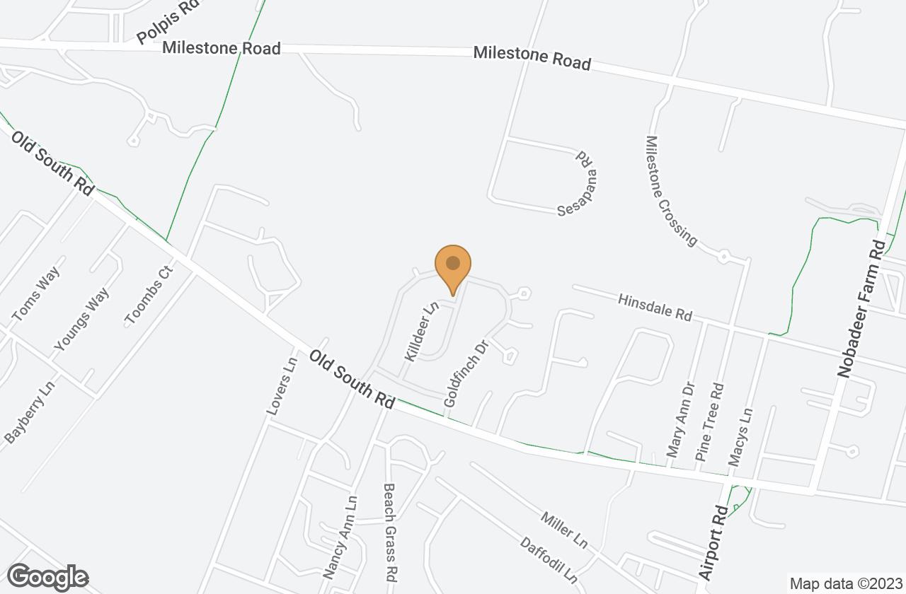 Google Map of 3 Kittiwake Lane, Nantucket, MA, USA