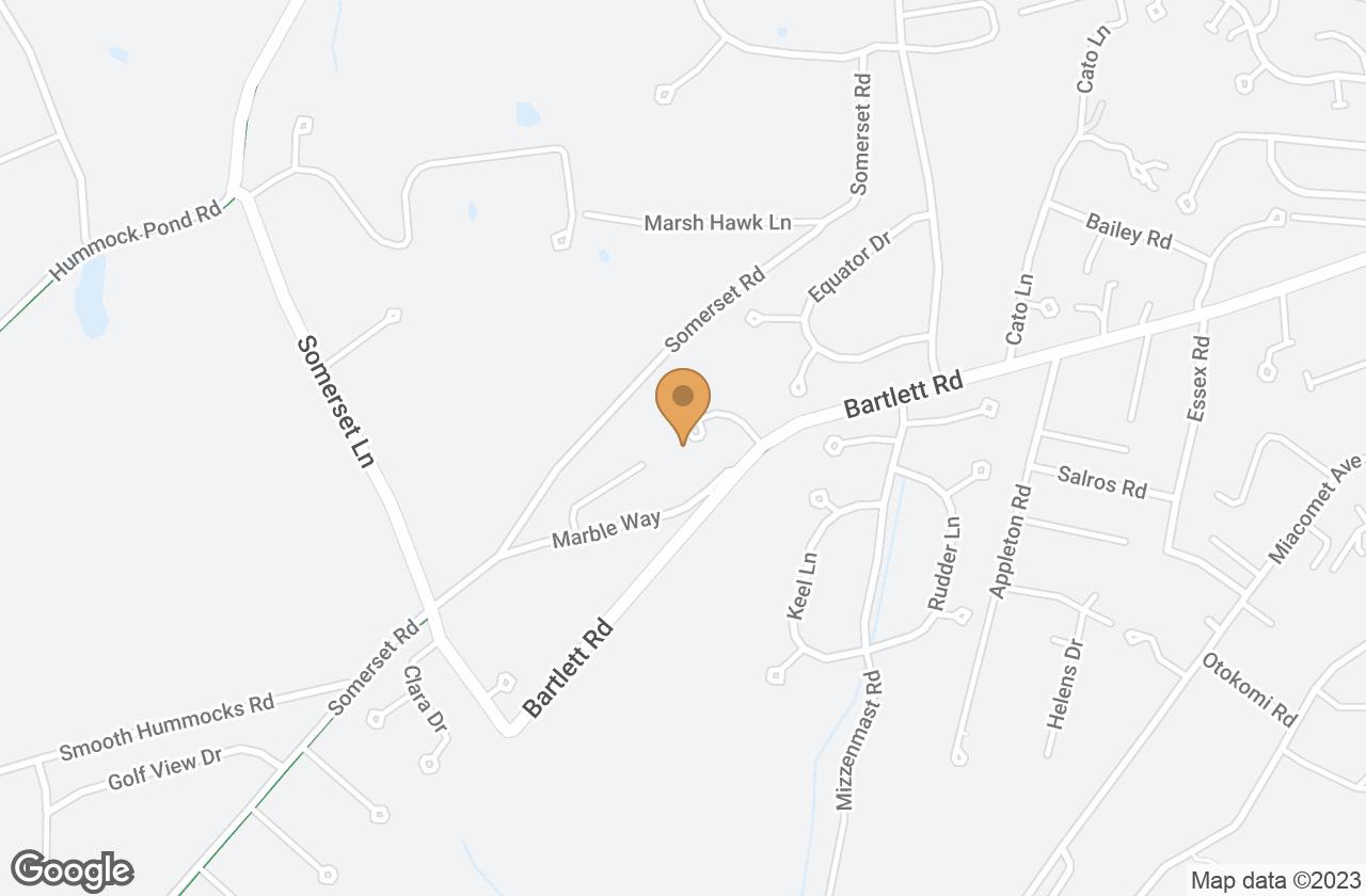 Google Map of 23 Finback Lane