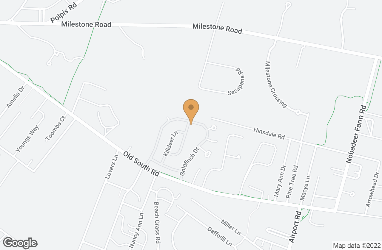 Google Map of 50 Goldfinch Drive, Nantucket, MA, USA