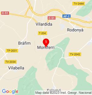Google Map of 41.2655762, 1.3653114999999616