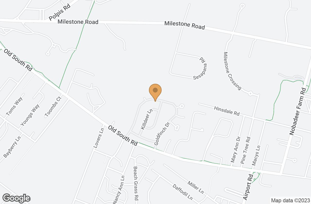 Google Map of 56 Goldfinch Drive, Nantucket, MA, USA