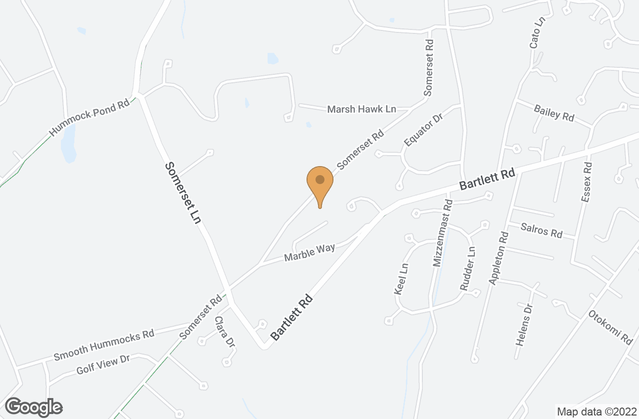 Google Map of 18 Sleepy Hollow Rd
