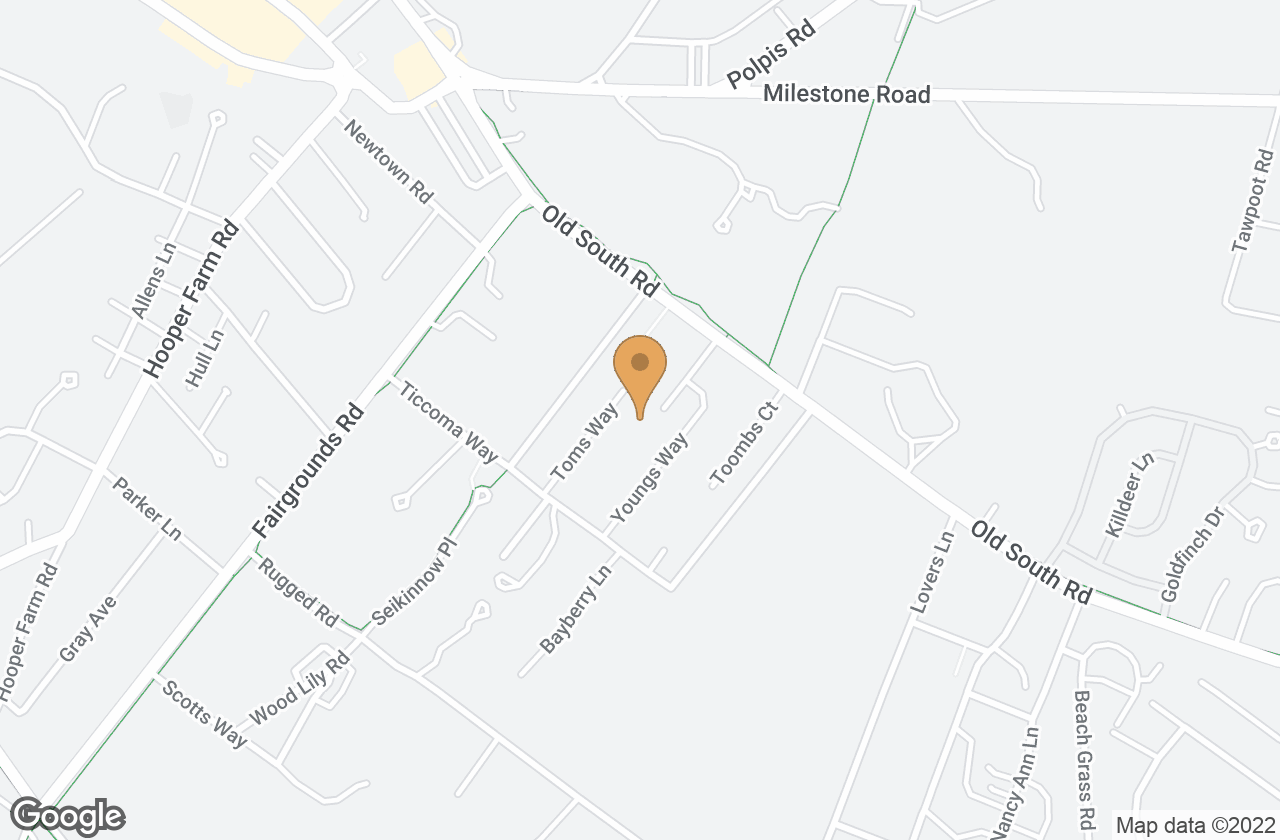 Google Map of 33 Old South Road, Nantucket, MA, USA