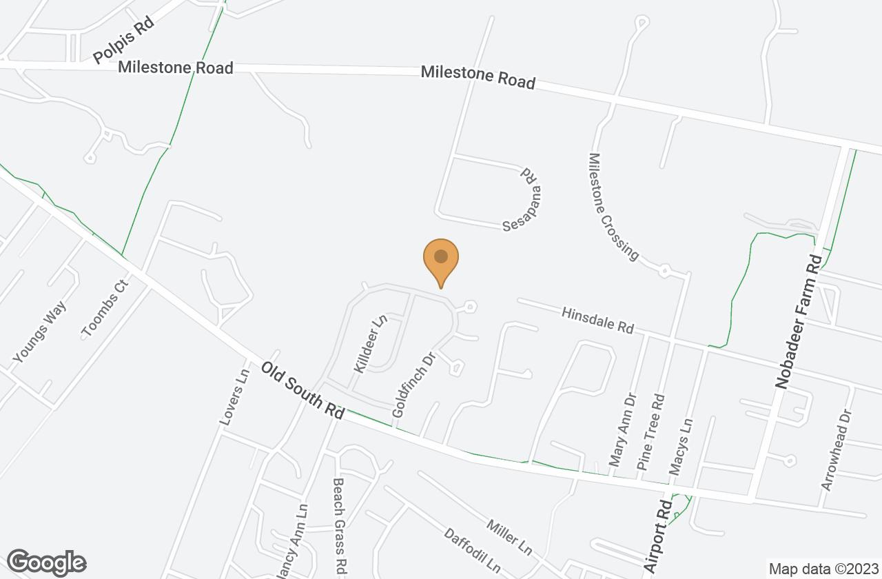 Google Map of 37 Goldfinch Drive, Nantucket, MA, USA