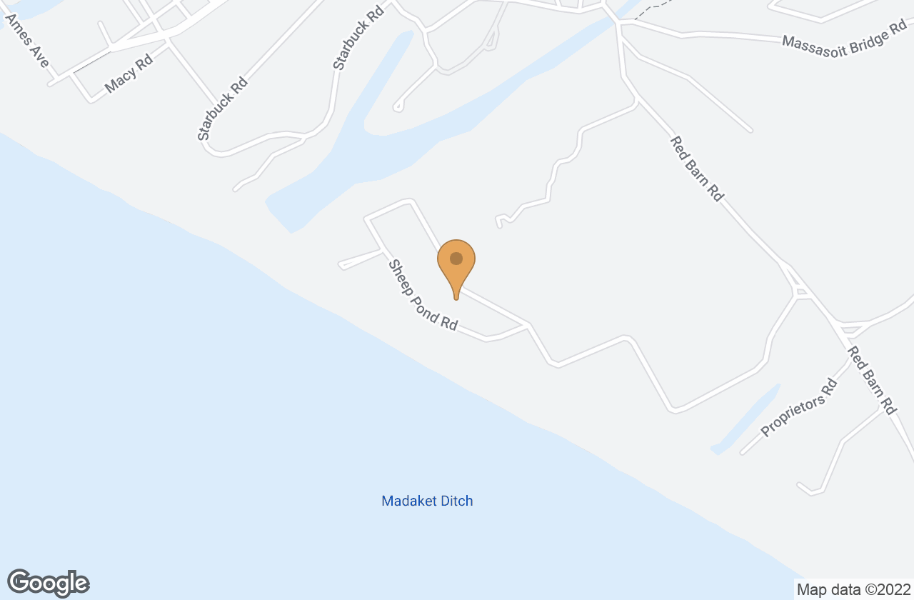 Google Map of 16 Sheep Pond Rd