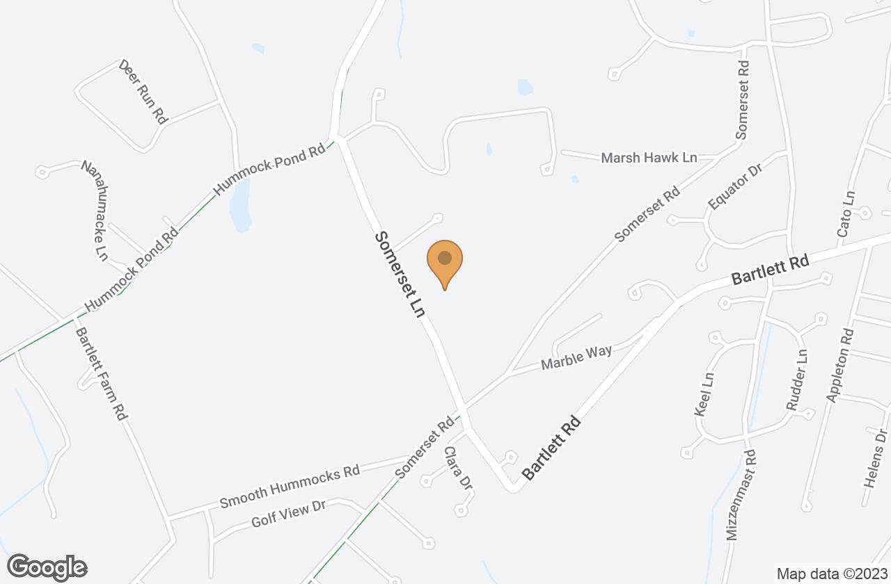 Google Map of 30 Somerset Lane , Nantucket, MA, USA