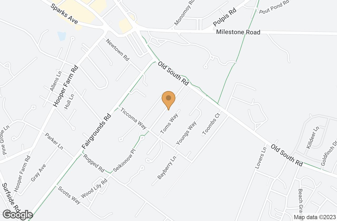 Google Map of 14 Amelia Drive, Nantucket, MA, USA