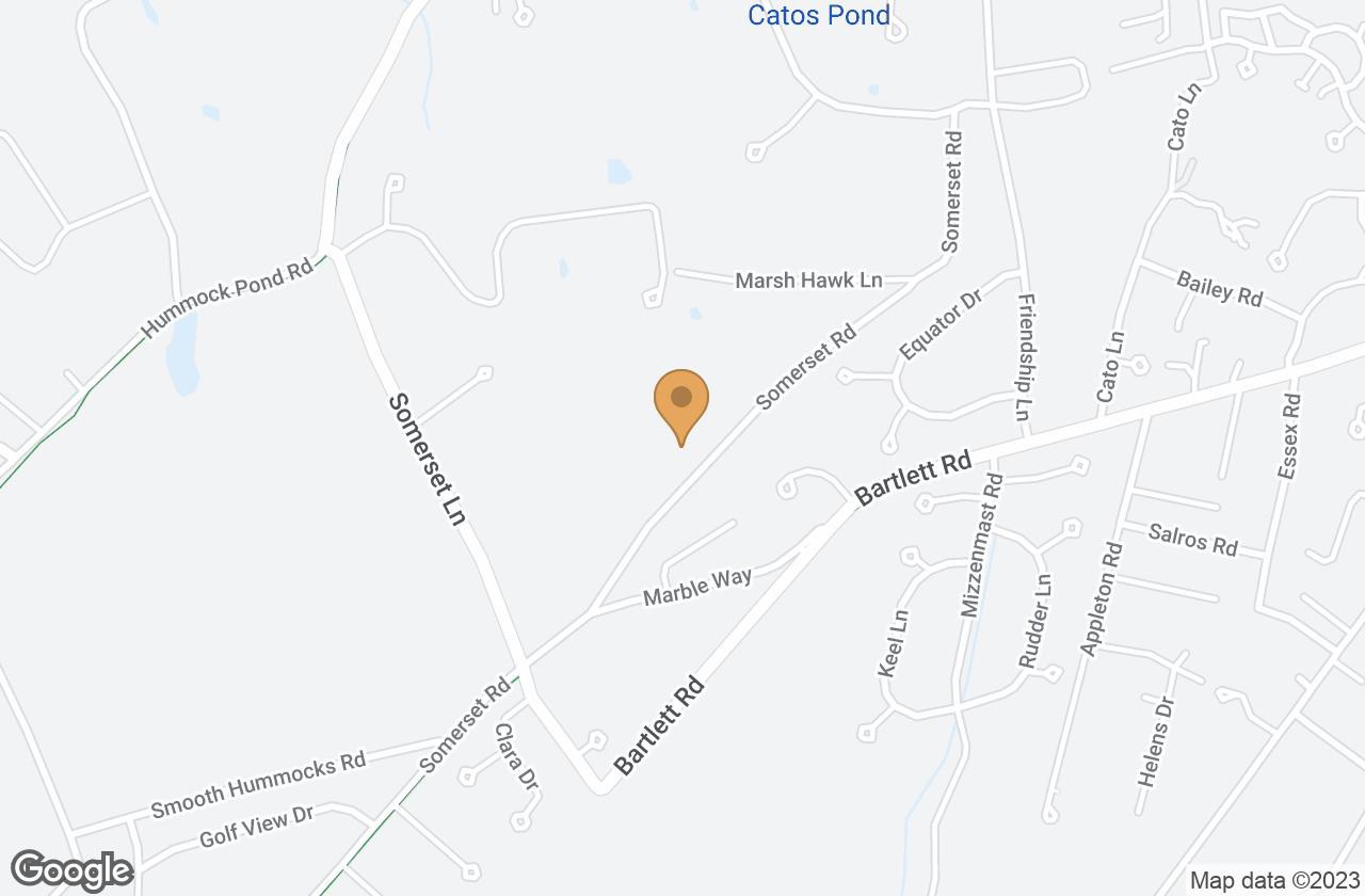 Google Map of 63 Somerset Road, Nantucket, MA, USA