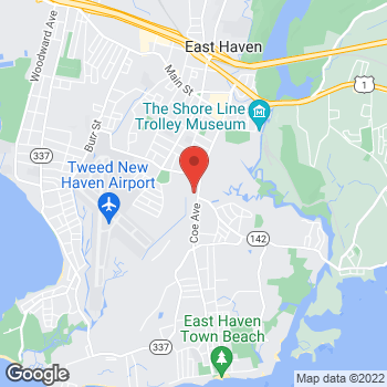 Map of Rite Aid at 10 Hemingway Avenue, East Haven, CT 06512