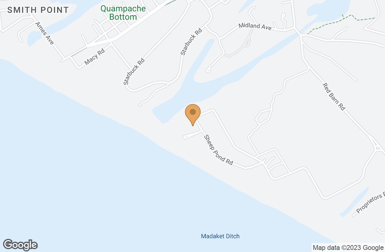 Google Map of 6 Sheep Pond Road, Nantucket, MA, USA