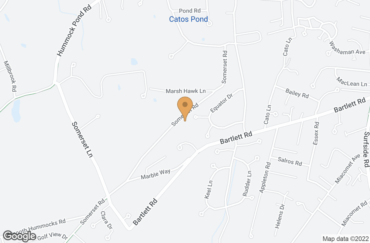 Google Map of 52 Somerset Road, Nantucket, MA, USA