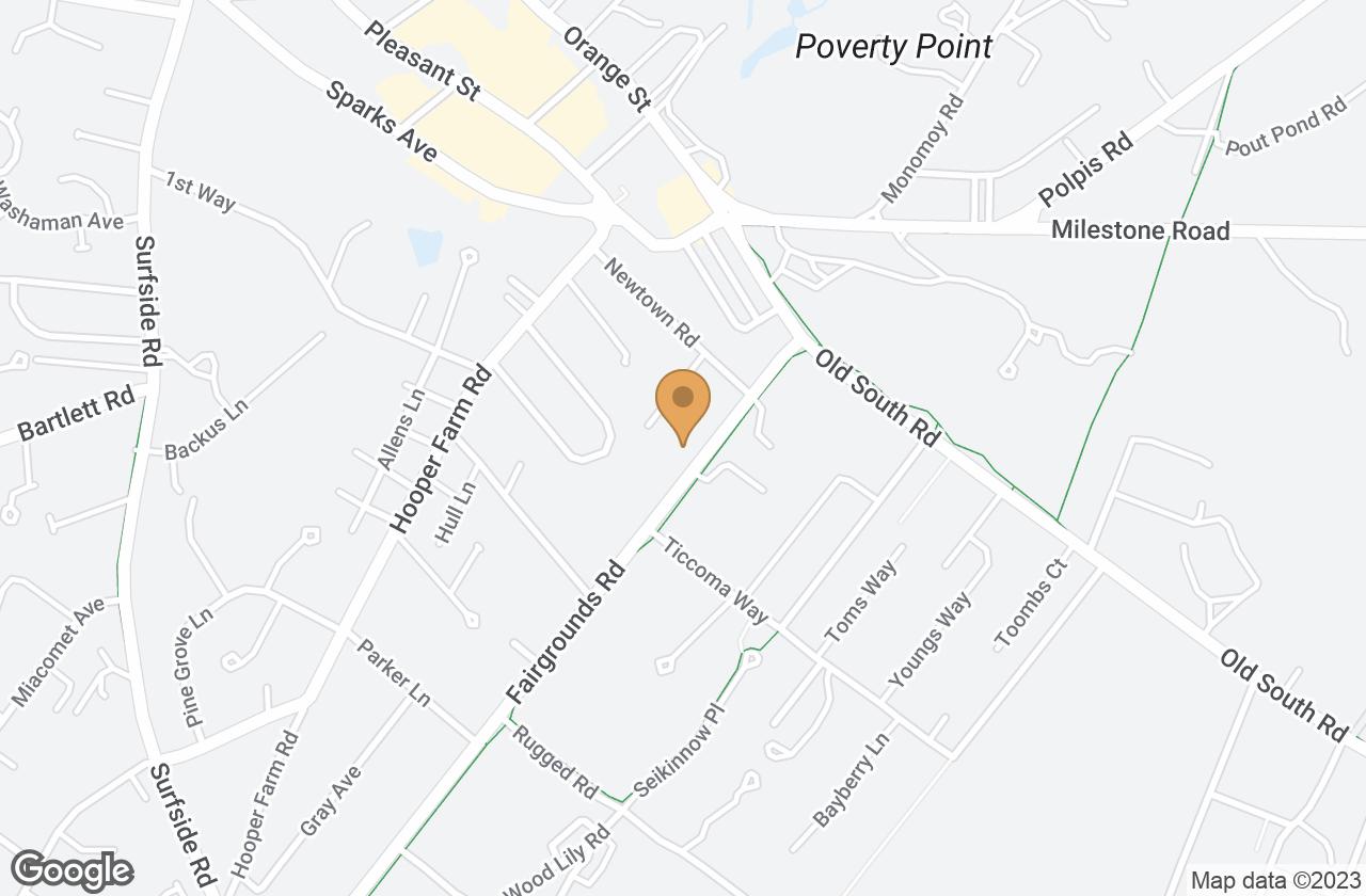 Google Map of 17 & 19 Fairgrounds Road, Nantucket, MA, USA