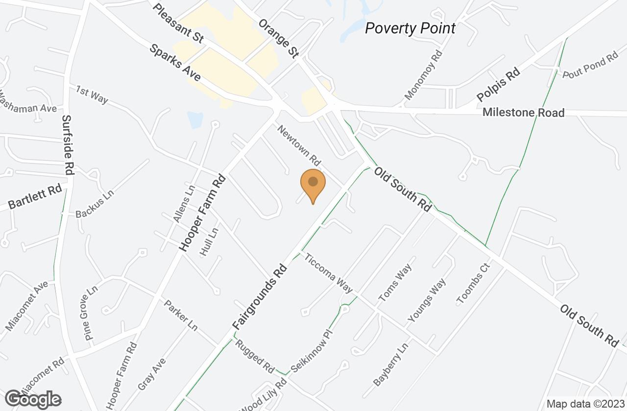 Google Map of 8 Lewis Court, Nantucket, MA, USA