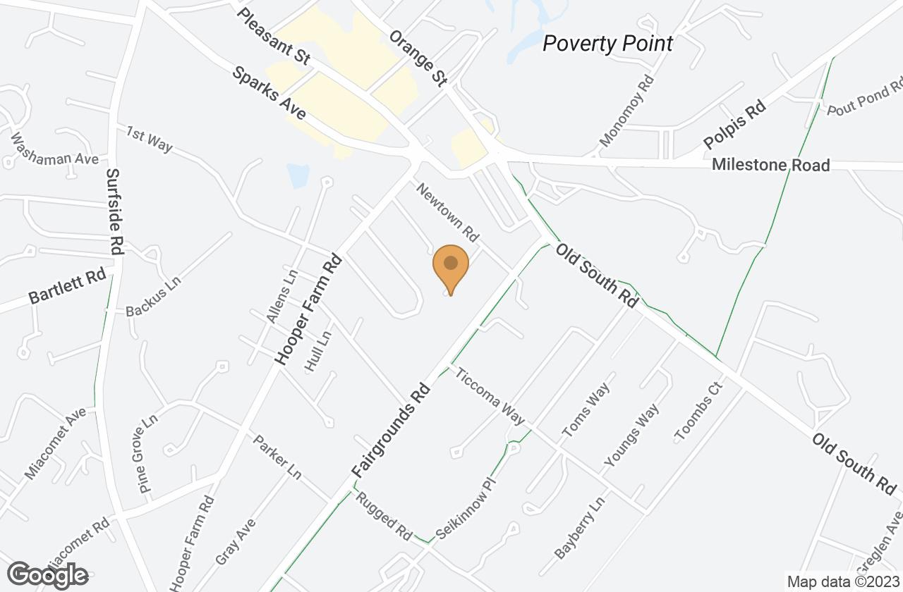 Google Map of 10 Lewis Court, Nantucket, MA, USA