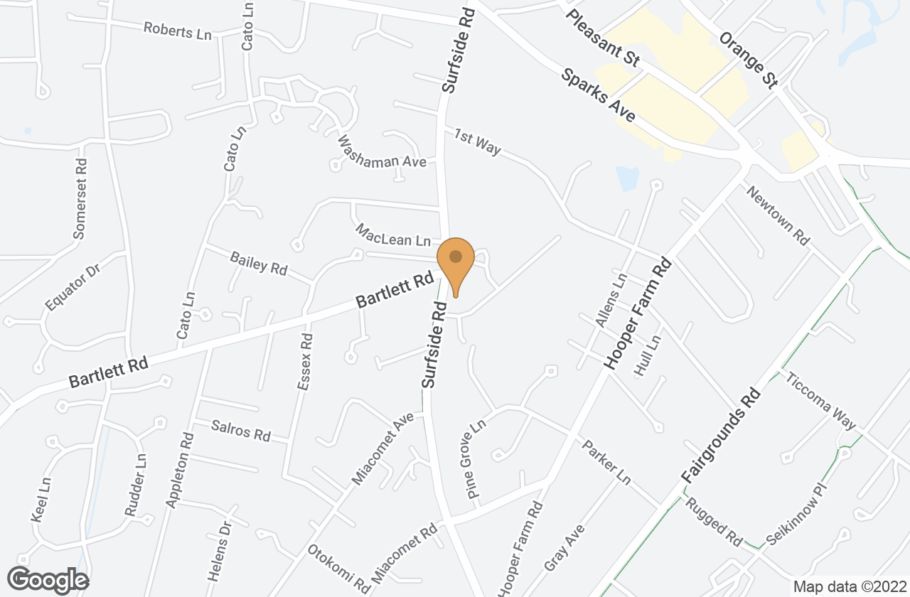 Google Map of 36  Surfside Road, Nantucket, MA, USA