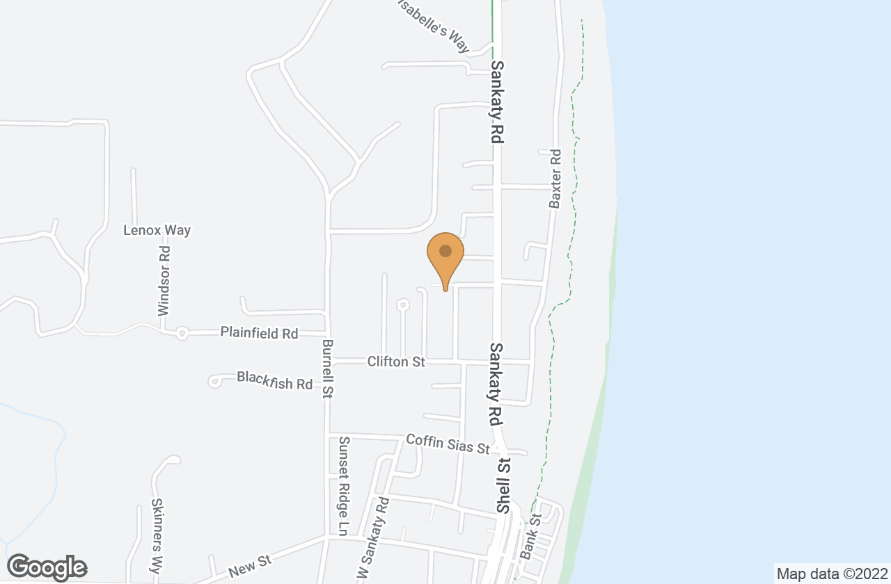 Google Map of 14 Sconset Ave
