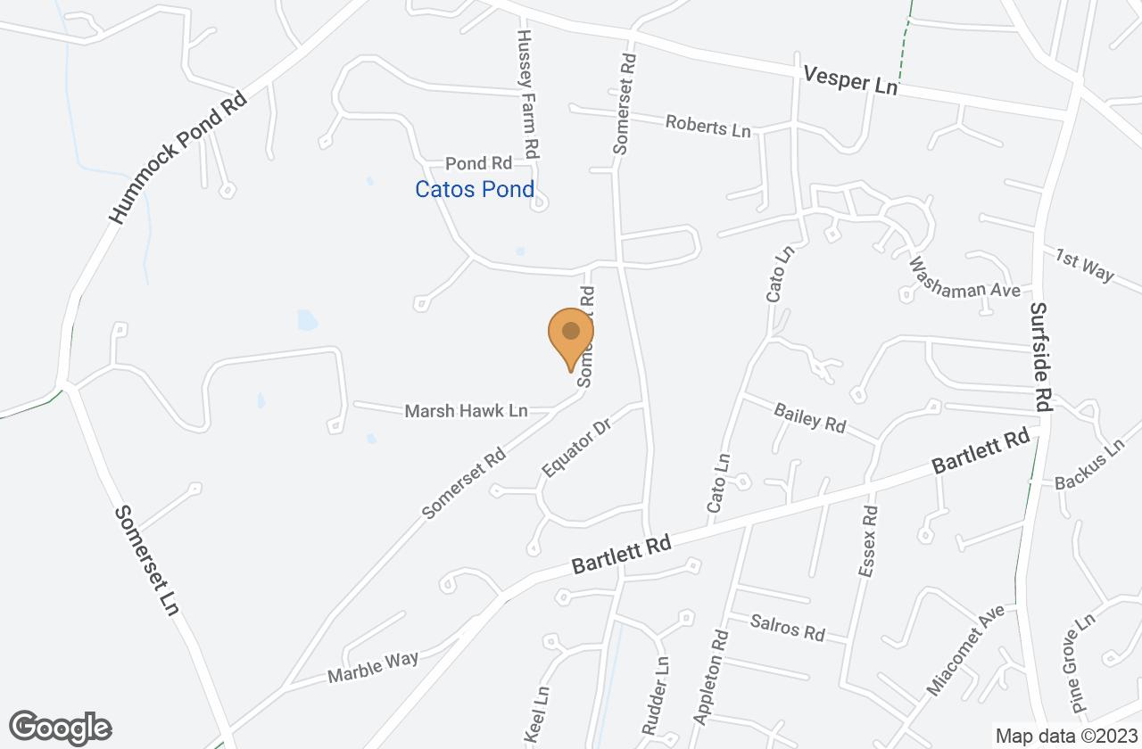 Google Map of 37  Somerset Road, Nantucket, MA, USA