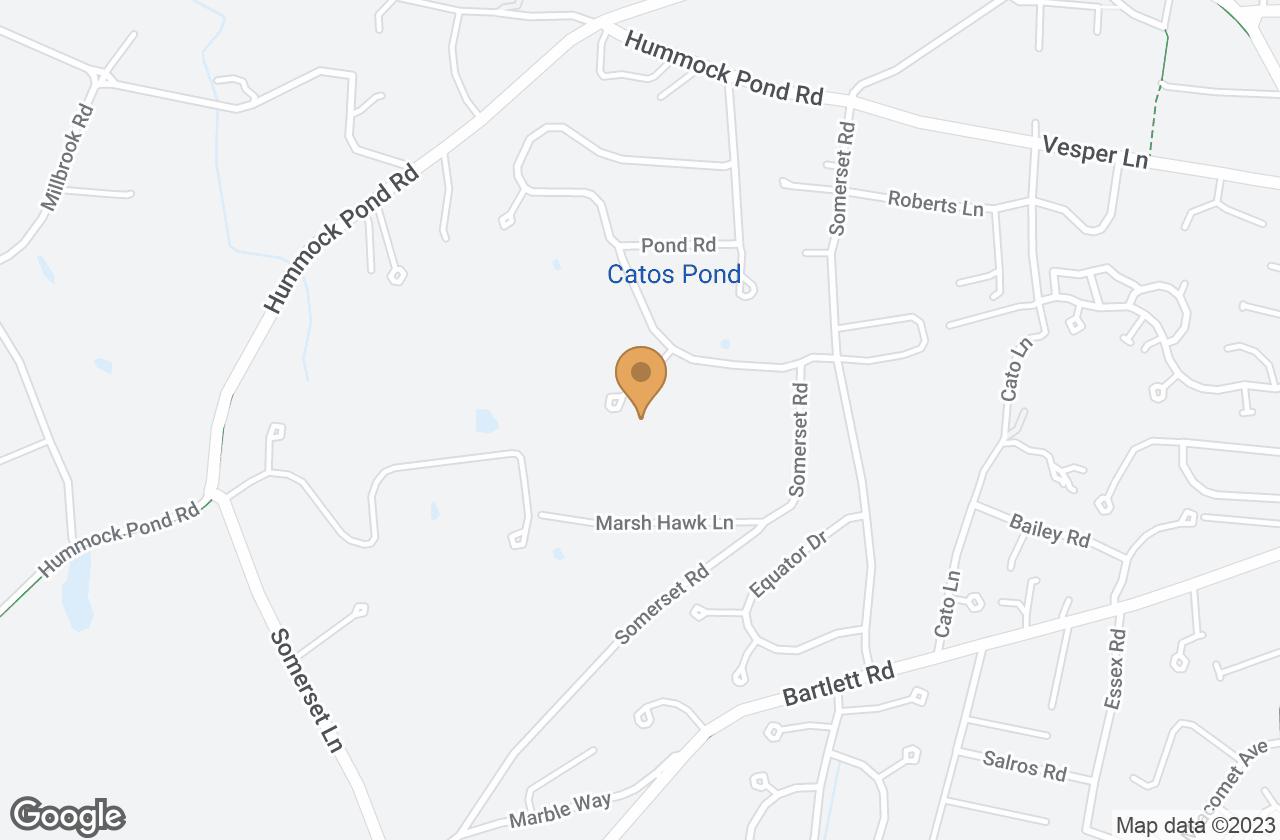 Google Map of 4A Wamasquid Place, Nantucket, MA, USA