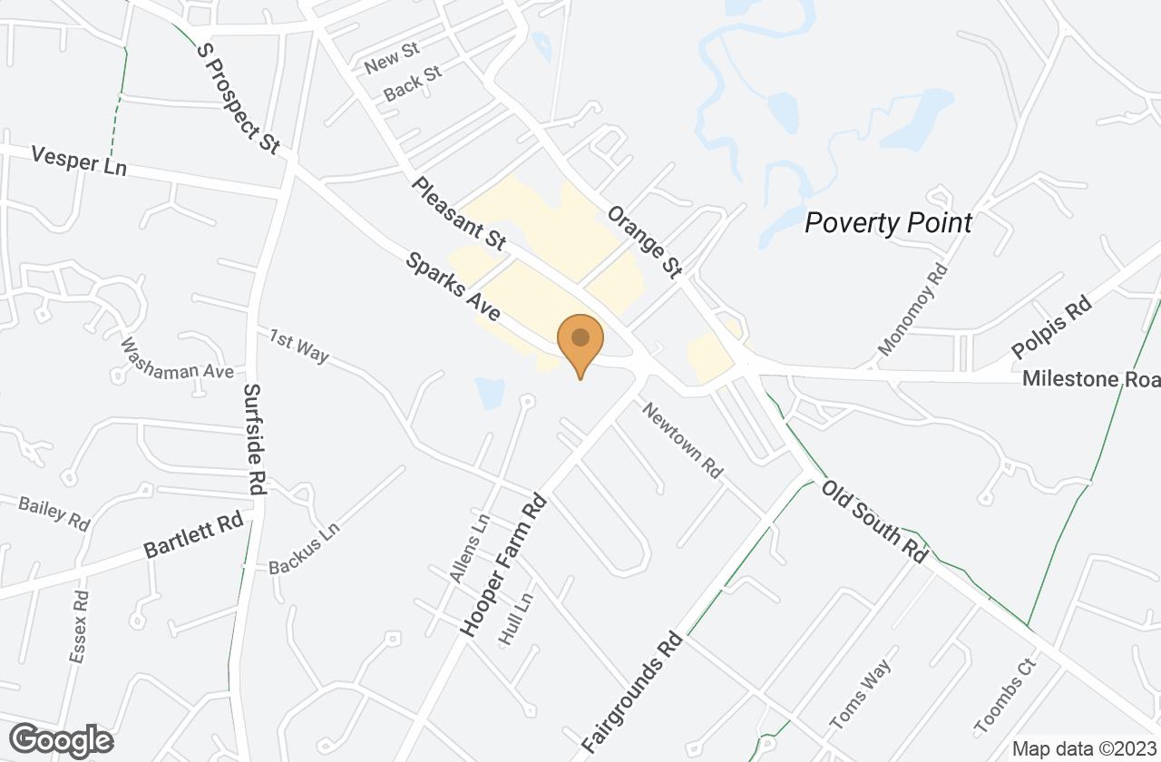 Google Map of 20 Sparks Avenue (Portion Of), Nantucket, MA, USA