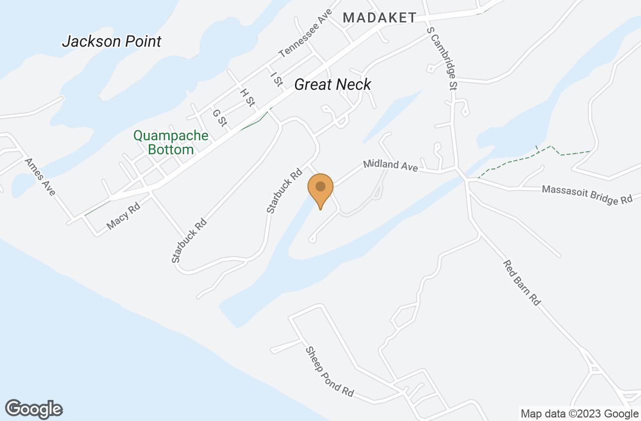 Google Map of 5 Columbus Ave