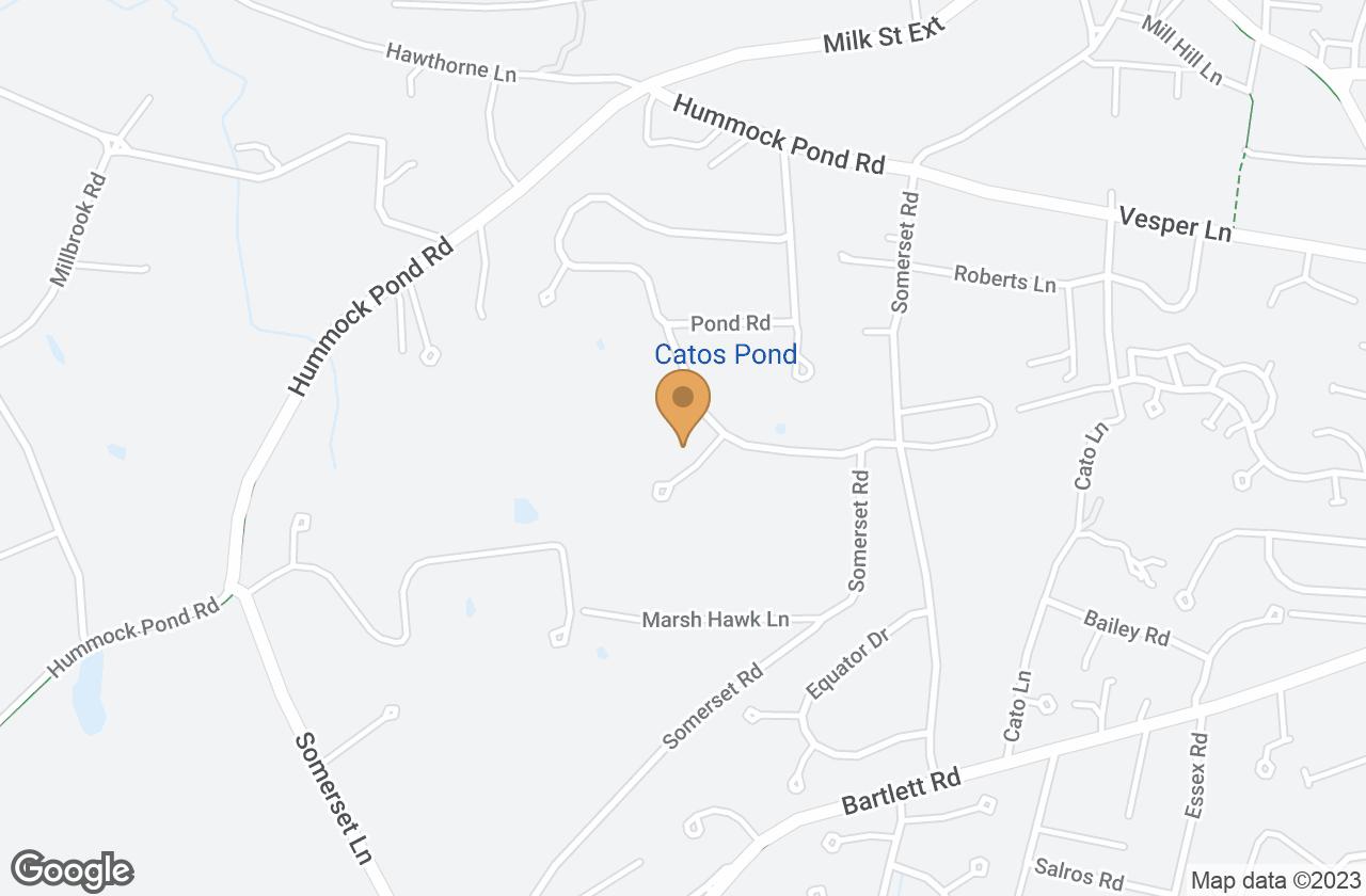 Google Map of 1 Wamasquid Place, Nantucket, MA, USA