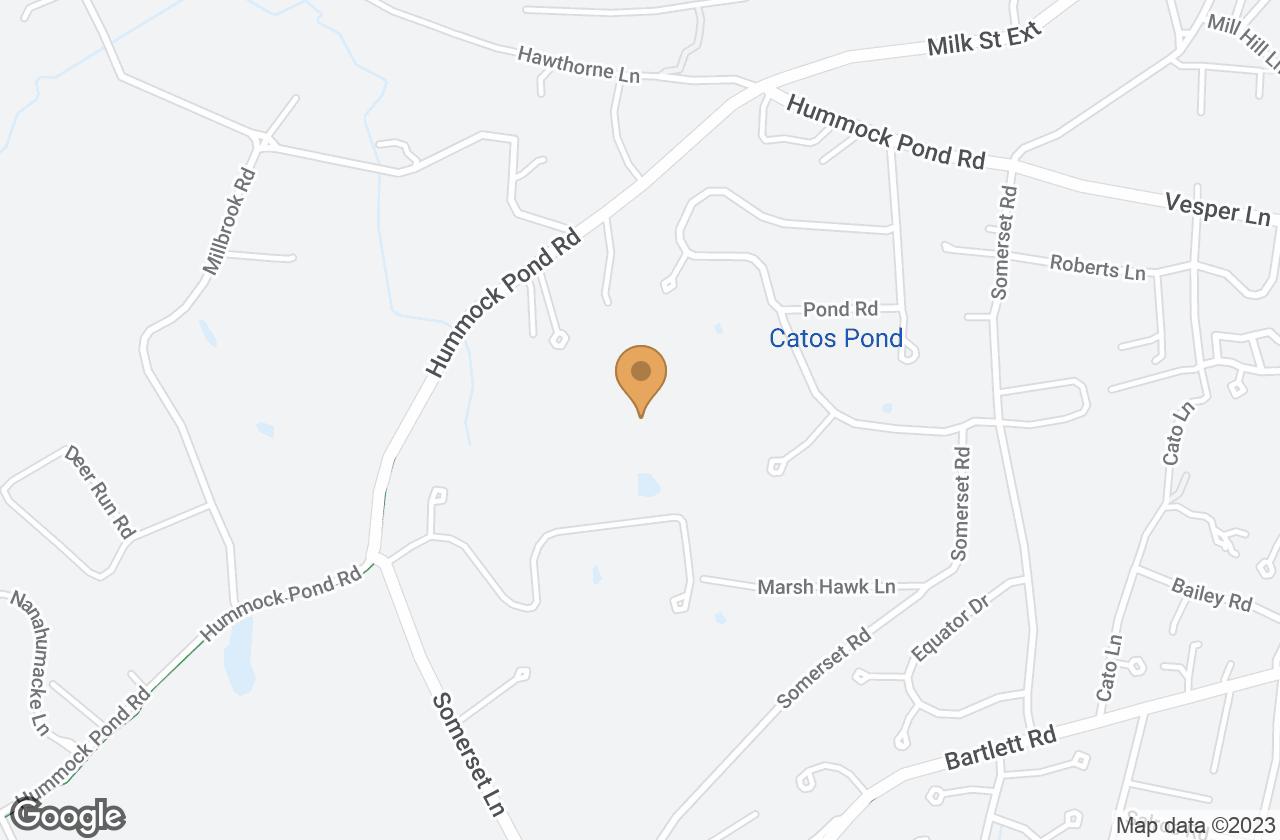 Google Map of 14 Aurora Way , Nantucket, MA, USA