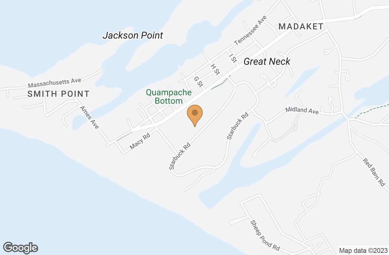 Google Map of 17 Starbuck Rd