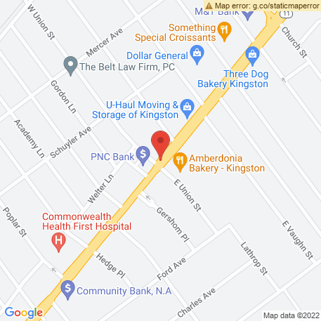 Atwell Kathey Bcd on Map (676 Wyoming Ave, Kingston, PA 18704) Map